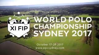 World Polo Championship Sydney 29 Octobre 2017
